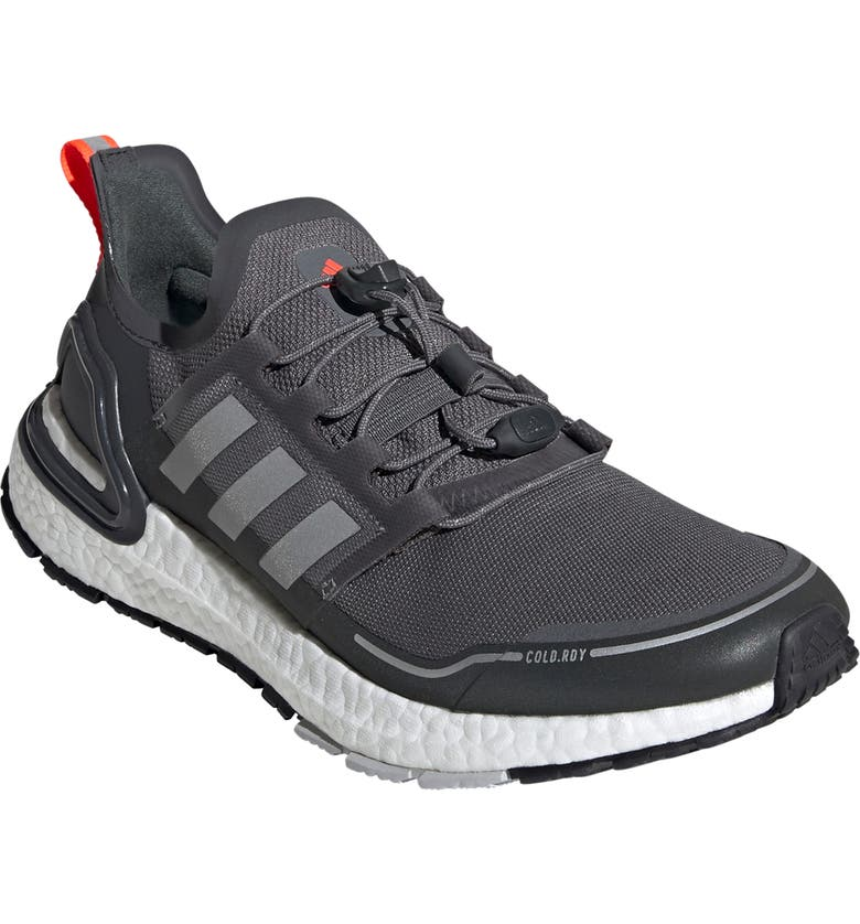 ADIDAS UltraBoost Summer.RDY Running Shoe, Main, color, GREY FOUR/SILVER MET/SOLAR RED