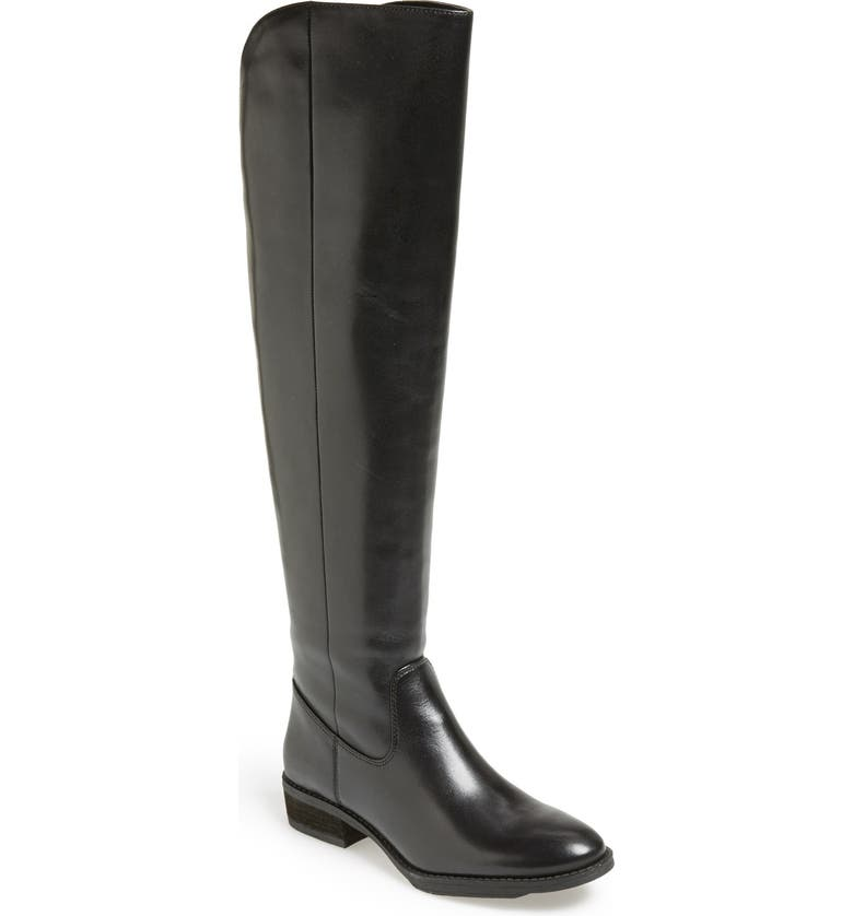 SOLE SOCIETY 'Andie' Over the Knee Boot, Main, color, 001