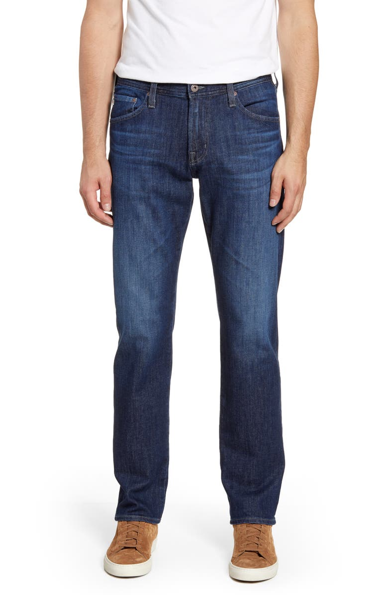 AG Graduate Slim Straight Leg Jeans, Main, color, 419