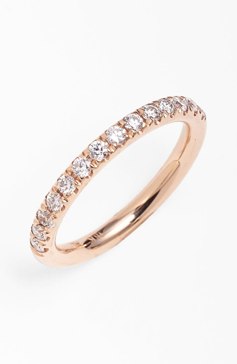 BONY LEVY 'Stackable' Diamond Band Ring, Main, color, 712