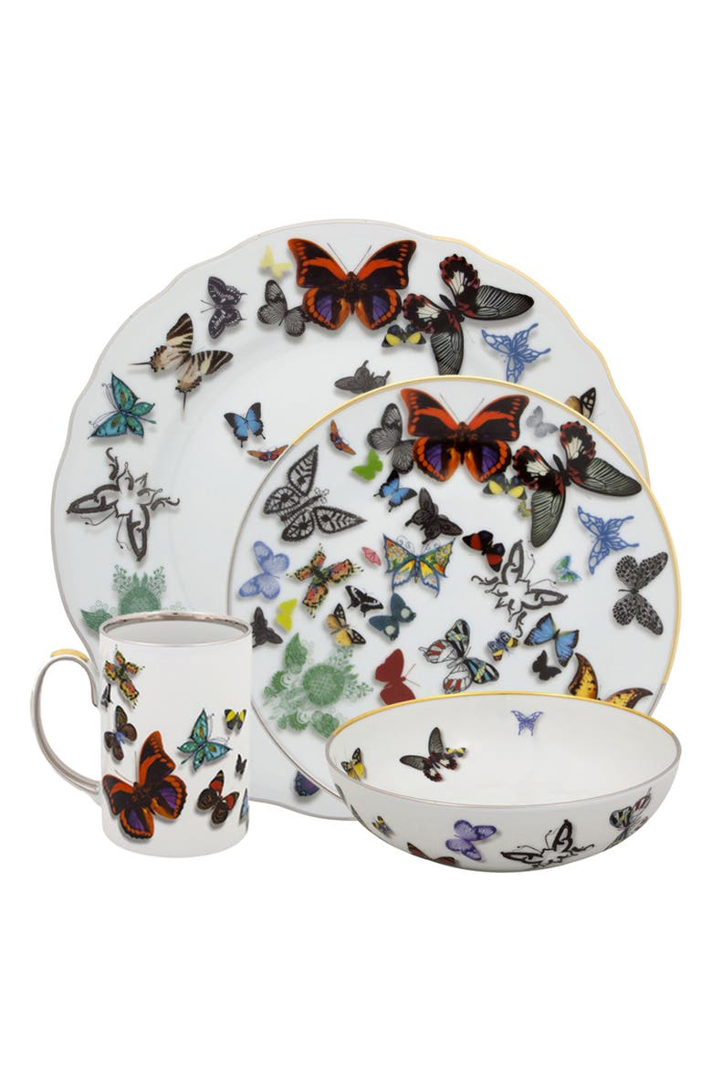 CHRISTIAN LACROIX Butterfly Parade 4-Piece Place Setting, Main, color, 100