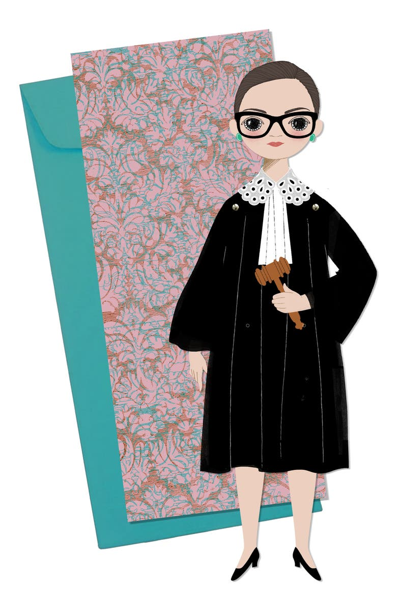 OF UNUSUAL KIND RBG Mailable Paper Doll, Main, color, 500