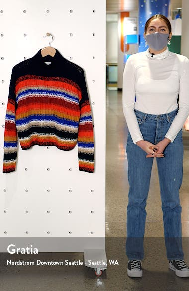 Stripe Wool Sweater, sales video thumbnail