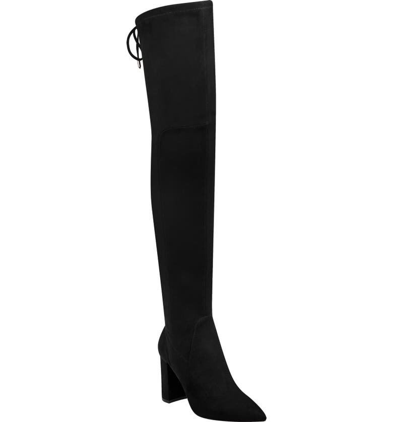 MARC FISHER LTD Ulona Over the Knee Boot, Main, color, 001