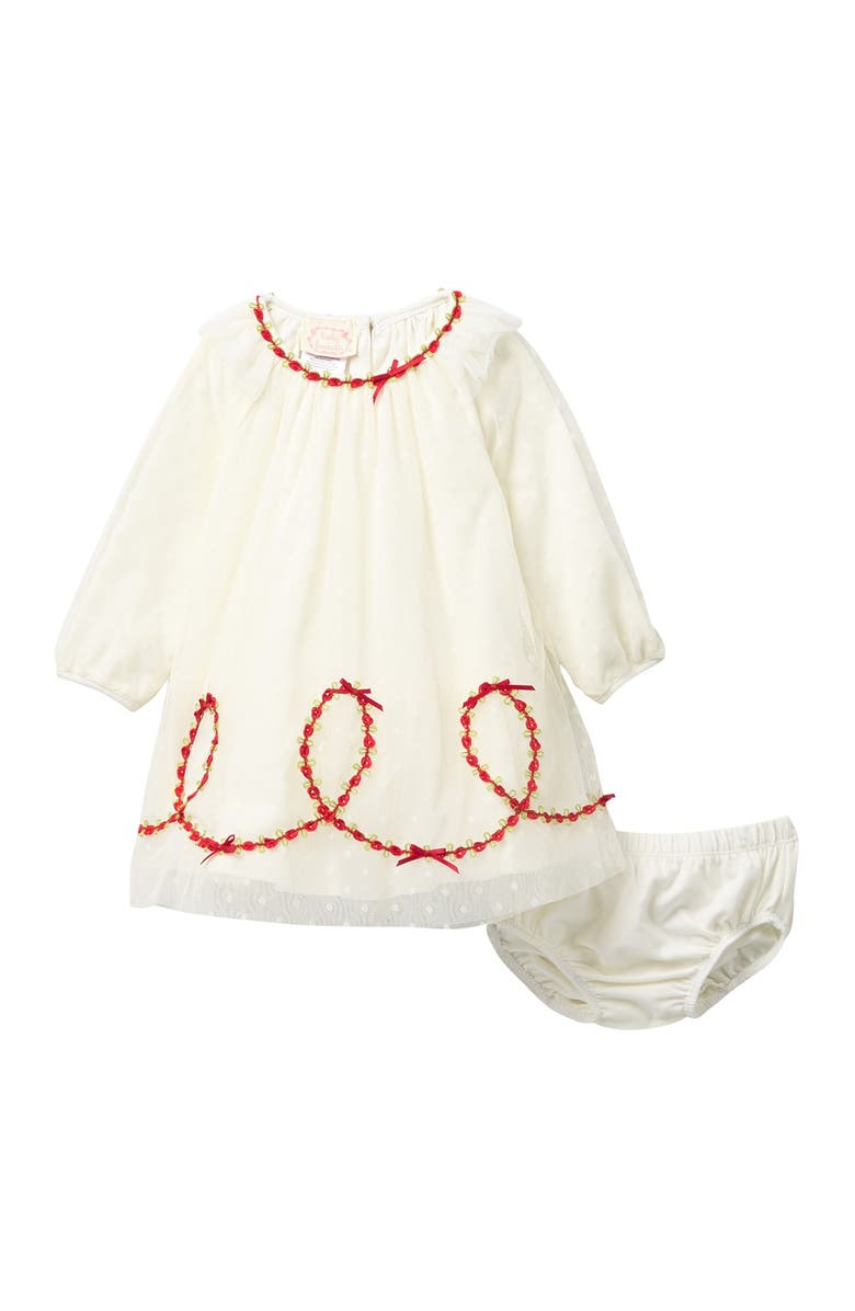 BISCOTTI Puffy Sleeve Dress Set, Main, color, IVORY