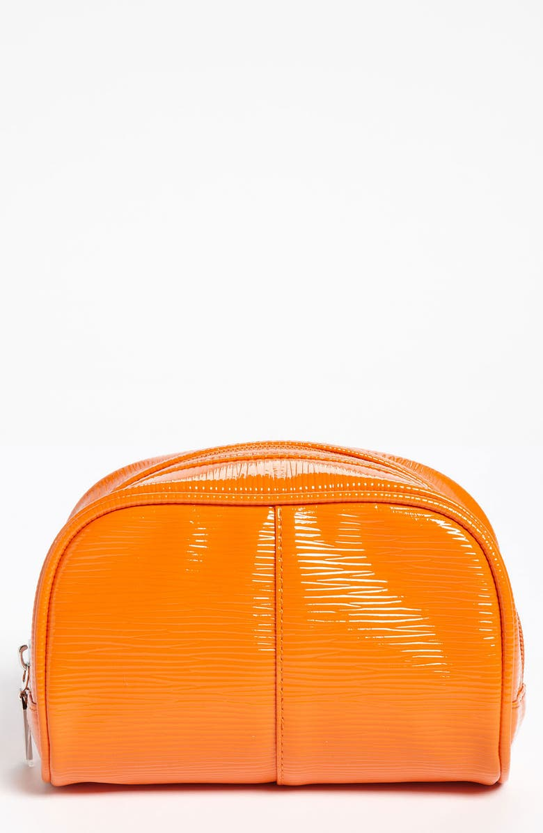 NORDSTROM Orange Cosmetic Bag, Main, color, 800