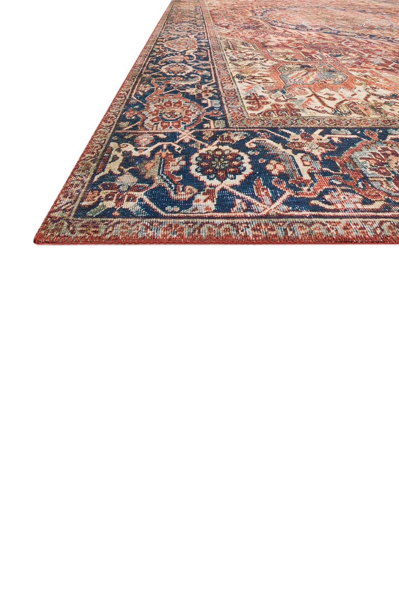 LOLOI II Layla Rug - Red/Navy, Main, color, RED / NAVY