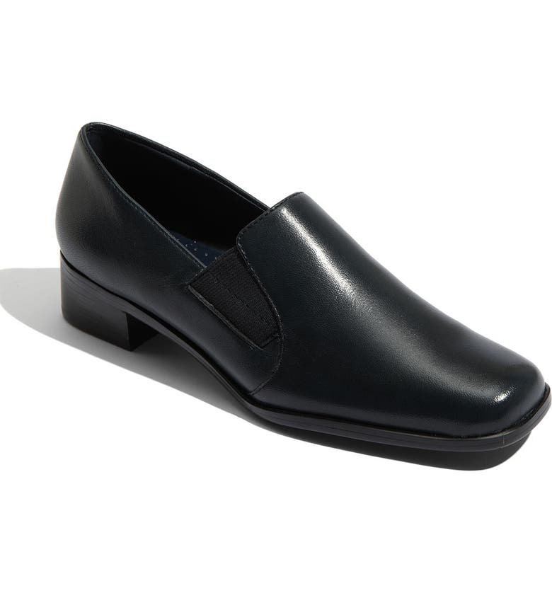 TROTTERS 'Ash' Slip-On, Main, color, NAVY