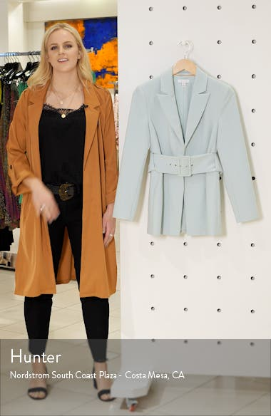 Belted Buckle Blazer, sales video thumbnail