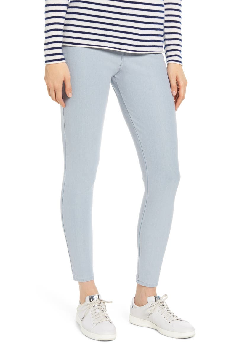 NORDSTROM The Denim Leggings, Main, color, BLUE CLOUD WASH