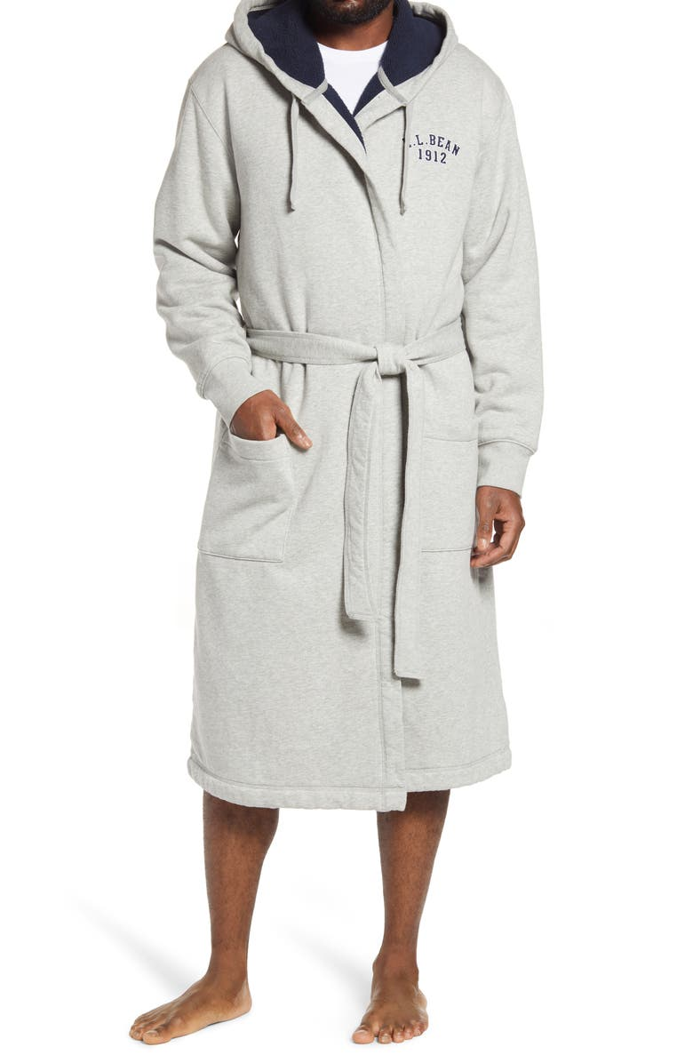 L.L.BEAN Rugby Robe, Main, color, 020