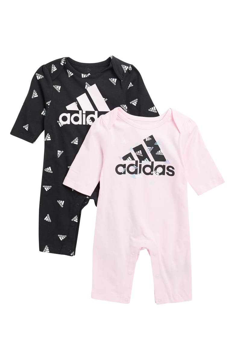 ADIDAS Coveralls - Pack of 2, Main, color, BLACK/ LIGHT PINK