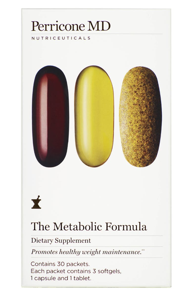 PERRICONE MD The Metabolic Formula Dietary Supplement Packets, Main, color, 000