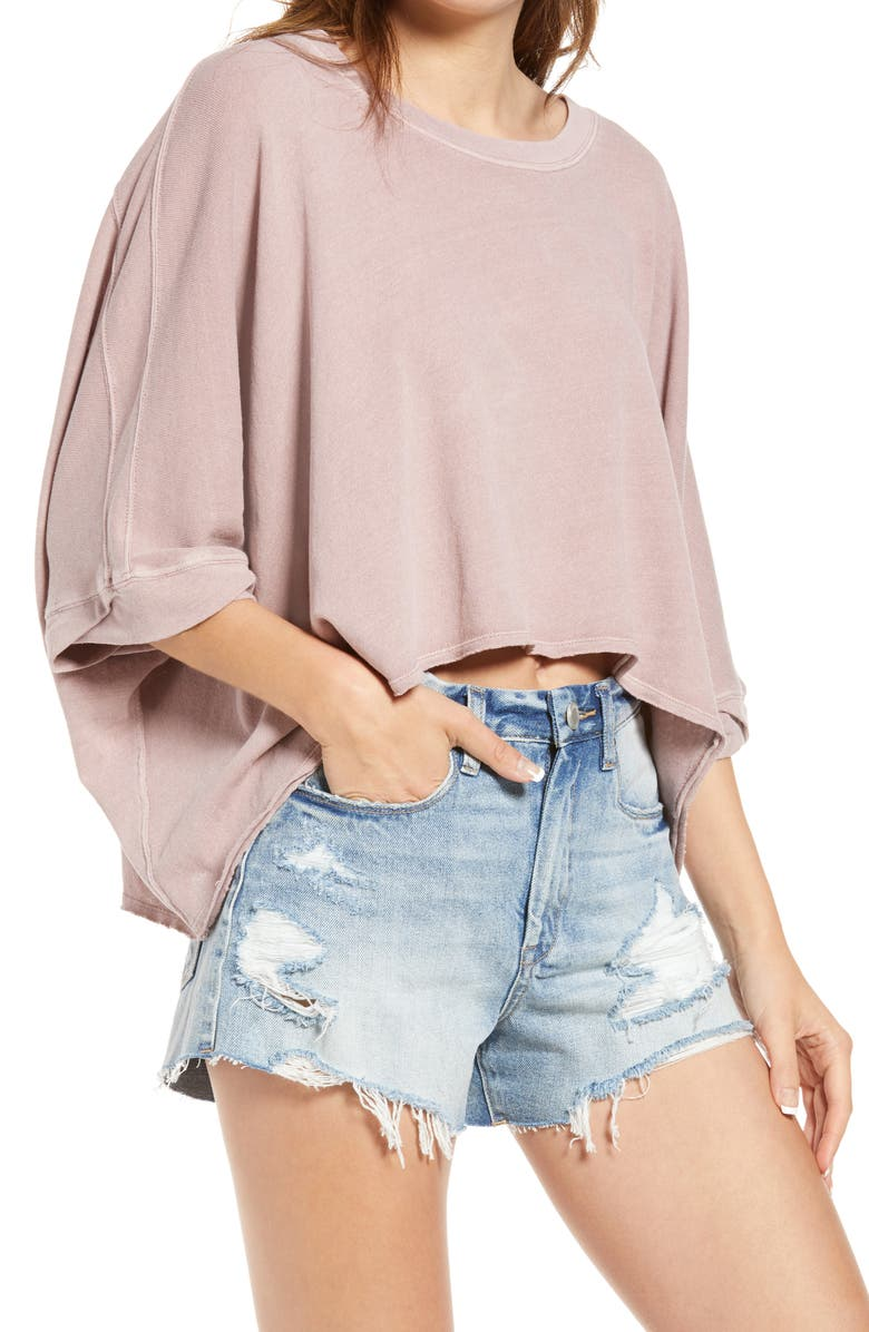 FREE PEOPLE We the Free Crop Top, Main, color, SUGAR MAPLE