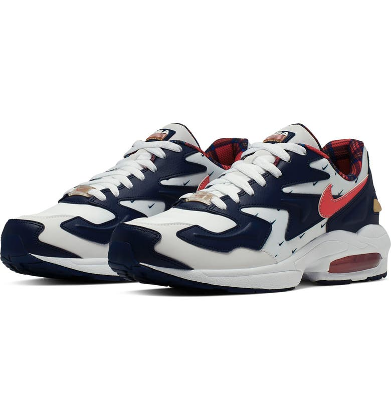 NIKE Air Max2 Light Sneaker, Main, color, 100