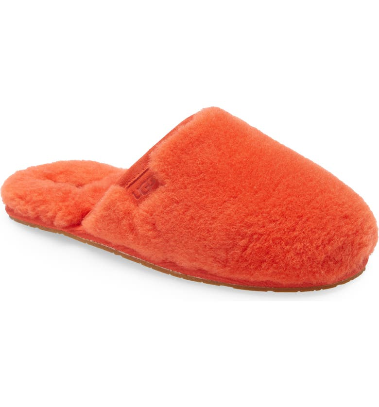 UGG<SUP>®</SUP> Fluffette Slipper, Main, color, LAVA FLOW