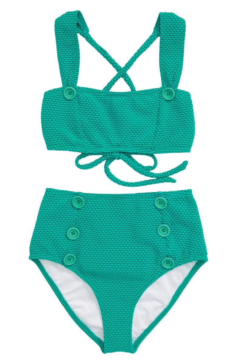 HEART AND HARMONY Dots Two-Piece Swimsuit, Main, color, 400