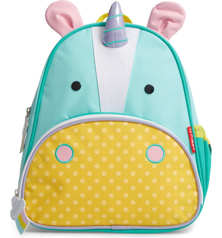 SKIP HOP Zoo Pack Backpack, Main, color, YELLOW