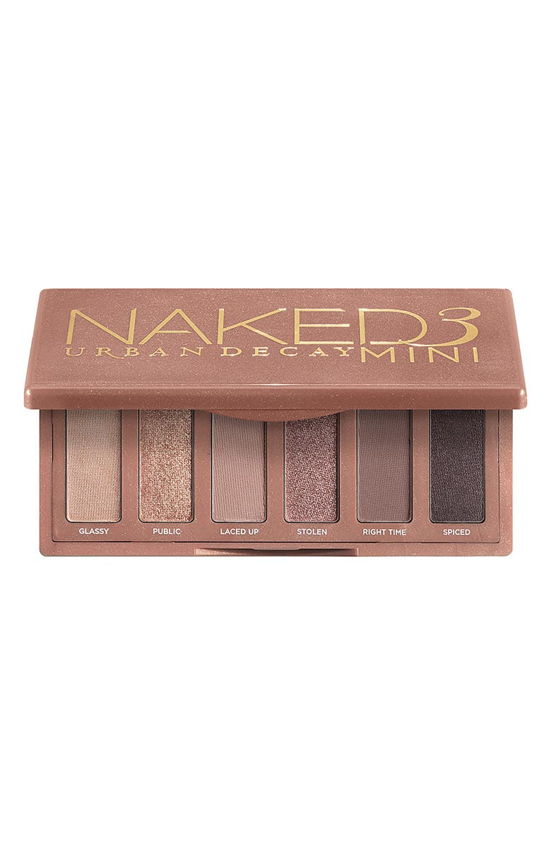 URBAN DECAY Naked3 Mini Eyeshadow Palette, Main, color, NO COLOR