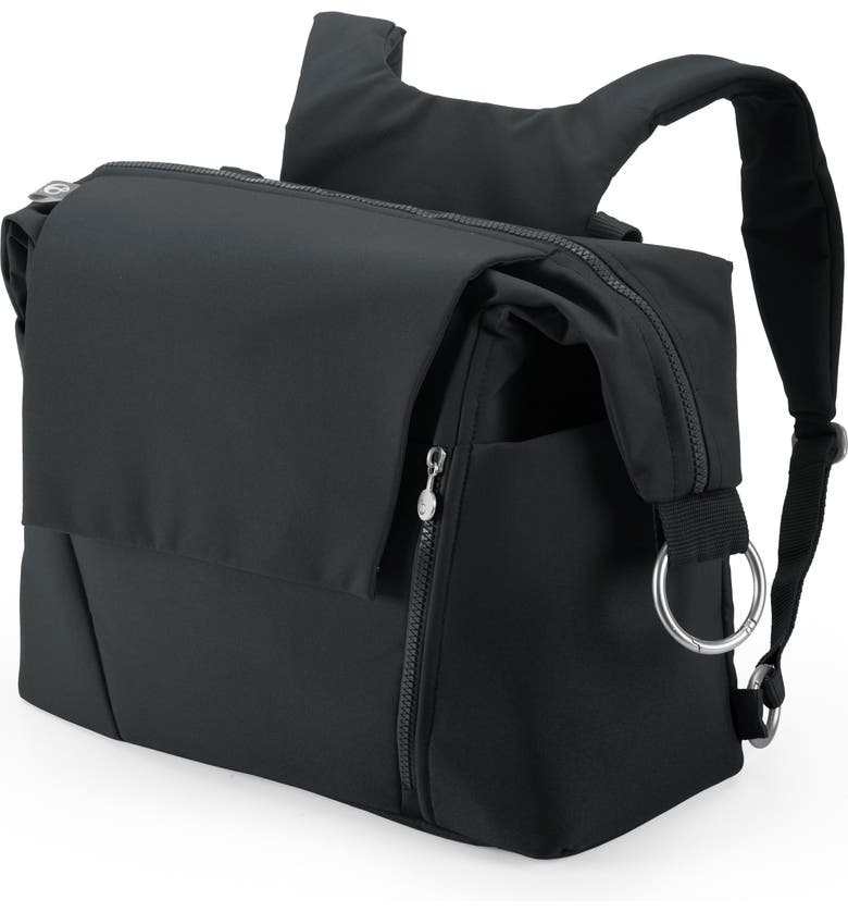 STOKKE Diaper Bag, Main, color, BLACK