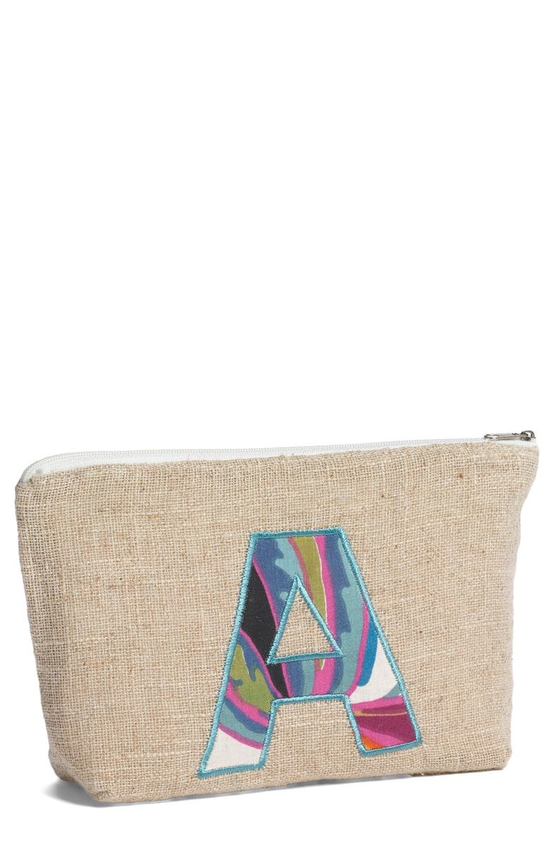 LEVTEX Personalized Canvas Pouch, Main, color, A