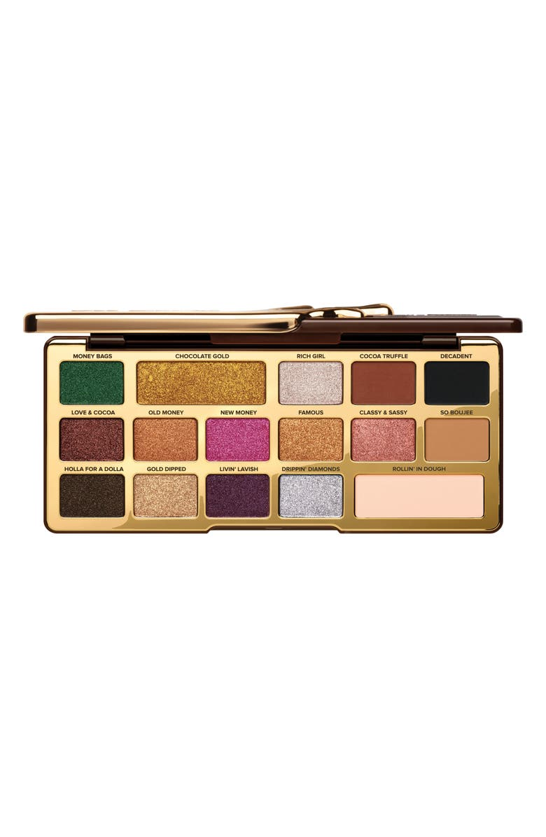 TOO FACED Chocolate Gold Eyeshadow Palette, Main, color, 000