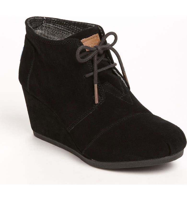 TOMS 'Desert' Bootie, Main, color, 001