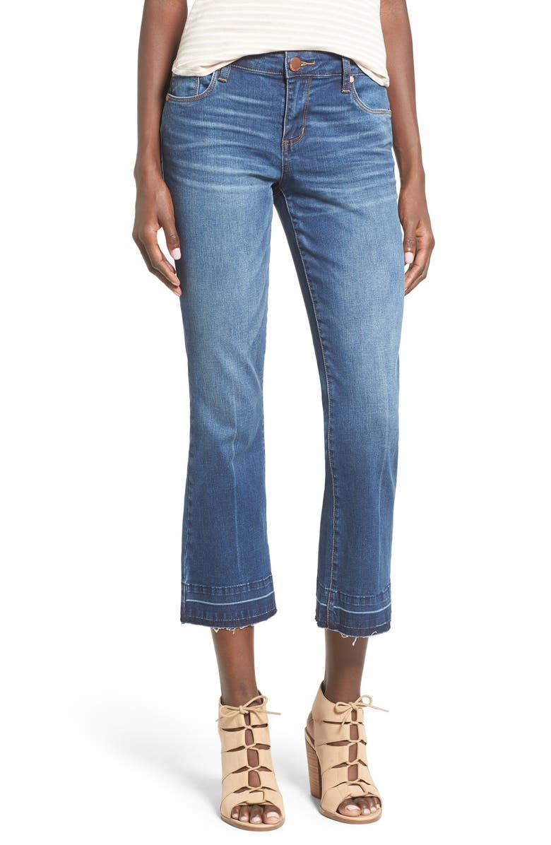 STS BLUE Crop Flare Jeans, Main, color, CARLSBAD
