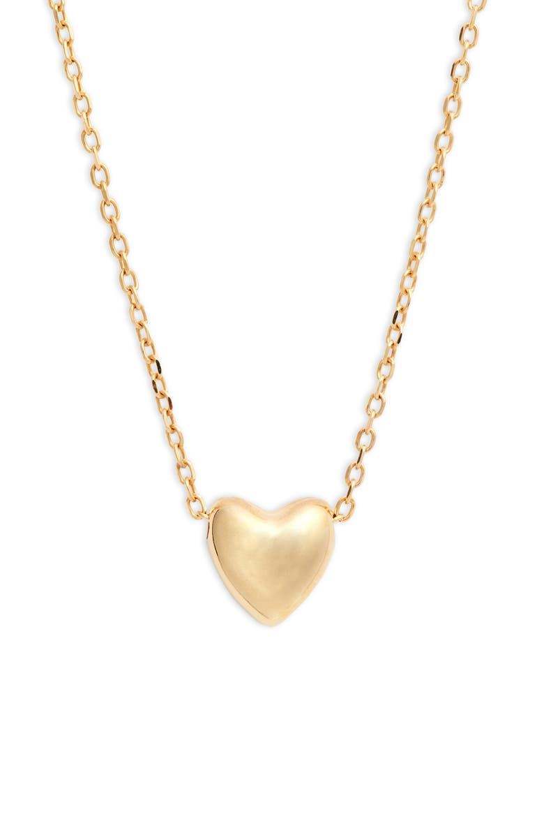 BONY LEVY 14K Gold Heart Pendant Necklace, Main, color, YELLOW GOLD