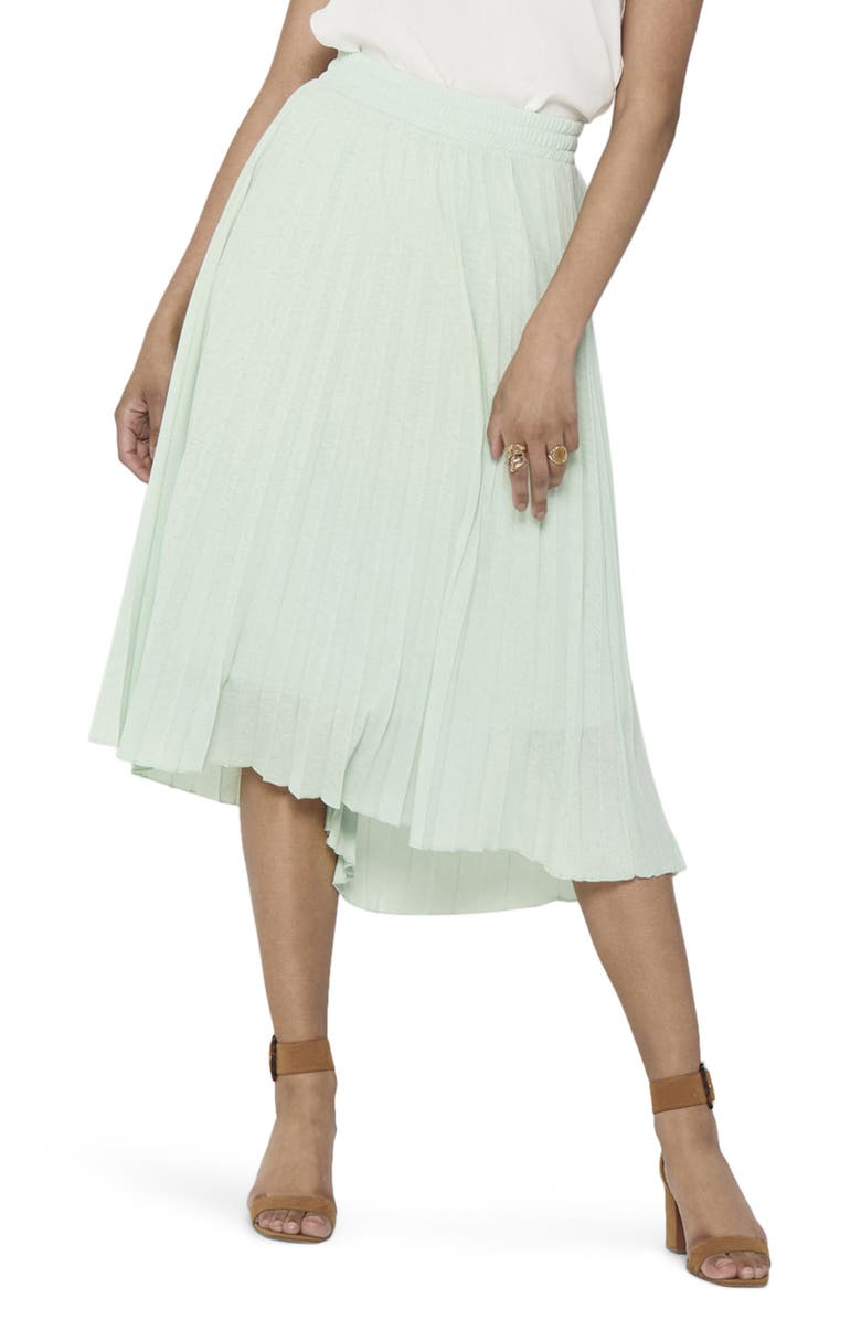 ONLY Paradise Pleat Midi Skirt, Main, color, 333