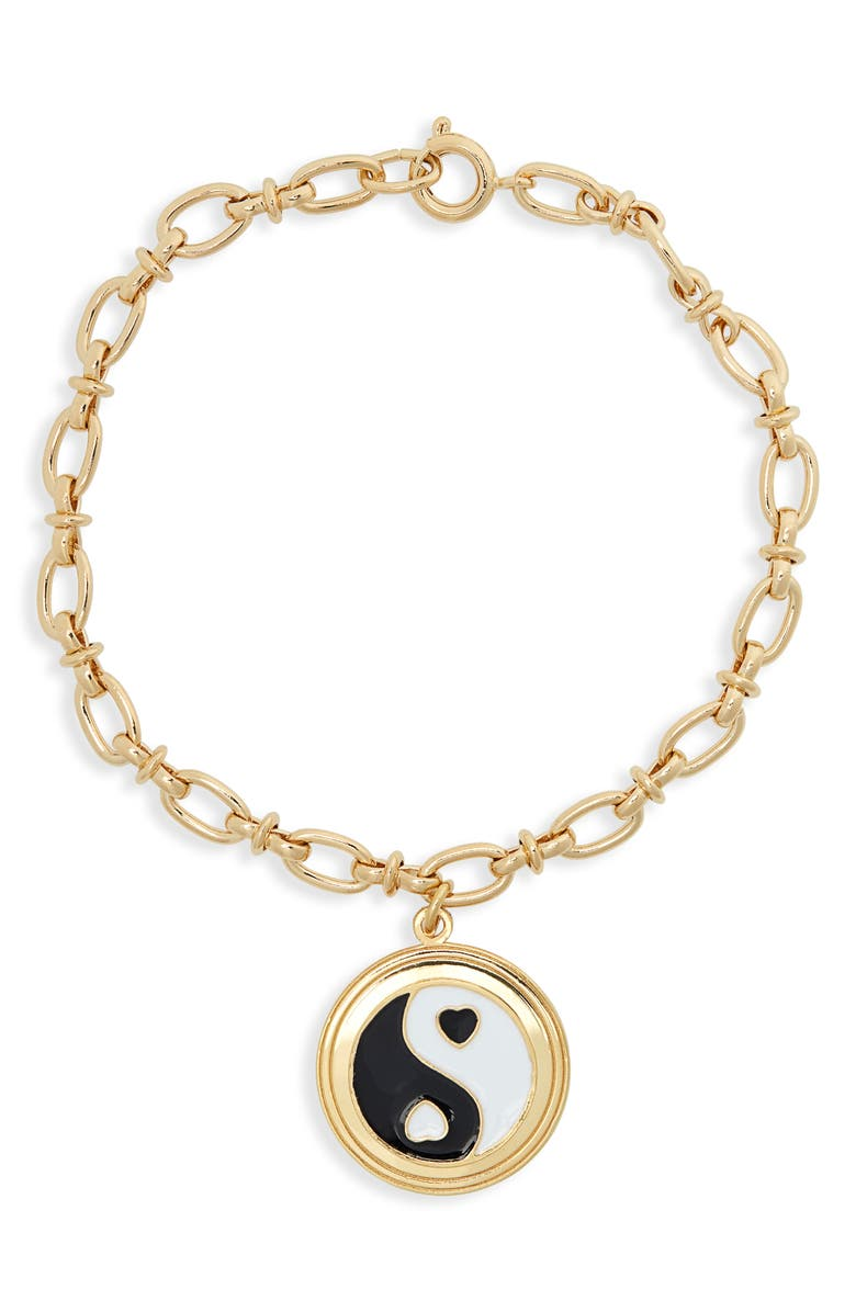 WILHELMINA GARCIA Yin Yang Bracelet, Main, color, 001