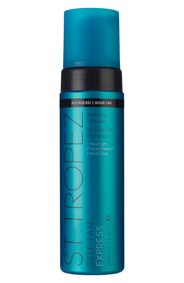 ST. TROPEZ Self Tan Express Bronzing Mousse, Main, color, NO COLOR