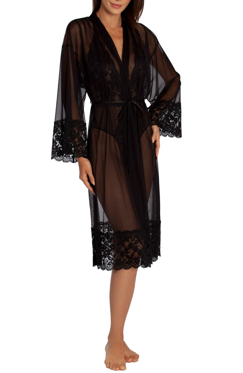 IN BLOOM BY JONQUIL Say Yes Sheer Robe, Main, color, 001