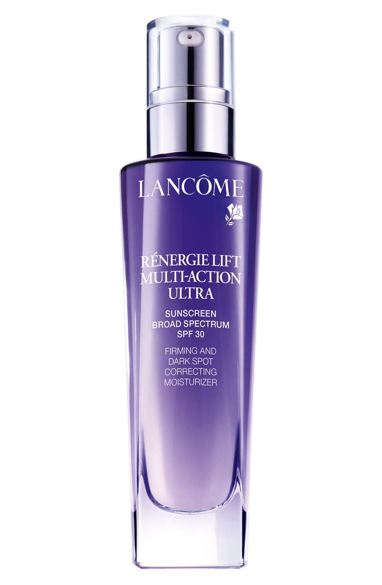LANCÔME Rénergie Lift Multi-Action Ultra Firming and Dark Spot Correcting Moisturizer SPF 30, Main, color, No Color
