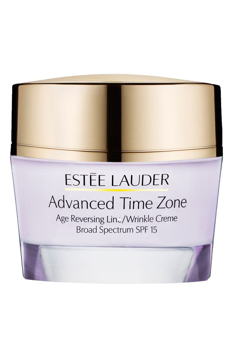 ESTÉE LAUDER Advanced Time Zone Age Reversing Line/Wrinkle Crème Broad Spectrum SPF 15, Main, color, 002