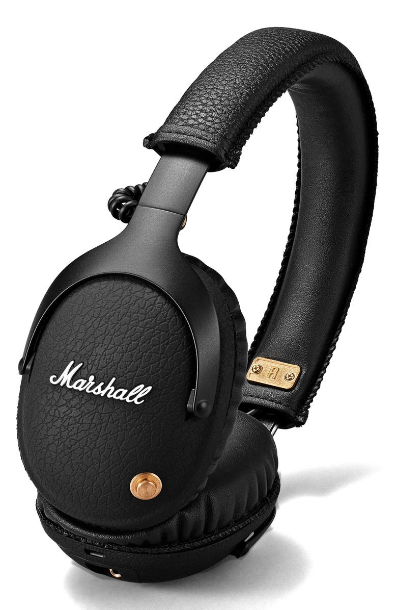 MARSHALL Monitor Bluetooth Wireless Over Ear Headphones, Main, color, 001