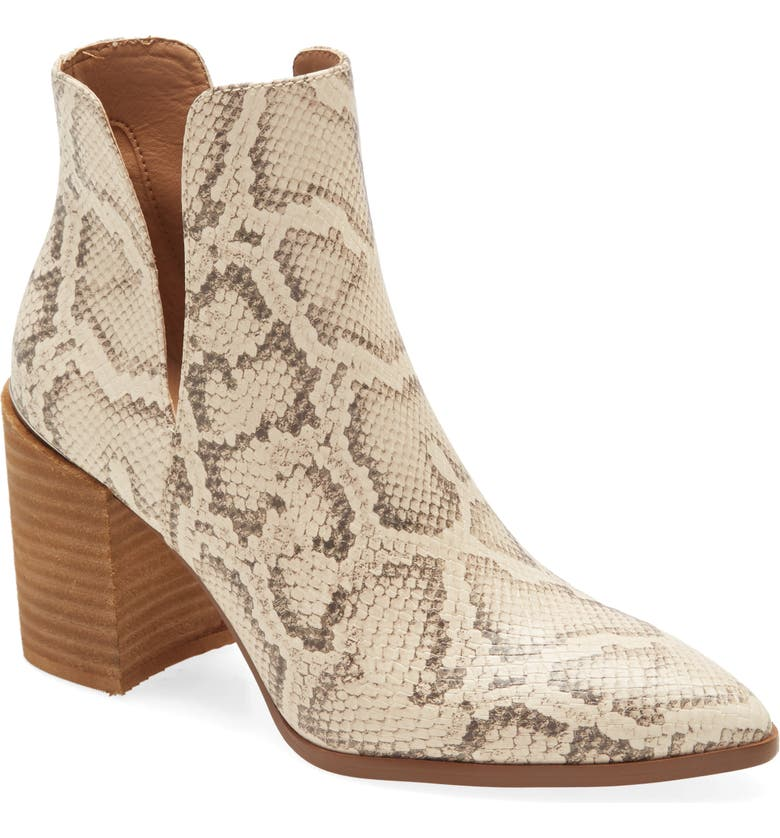 STEVE MADDEN Kaylah Pointed Toe Bootie, Main, color, 279