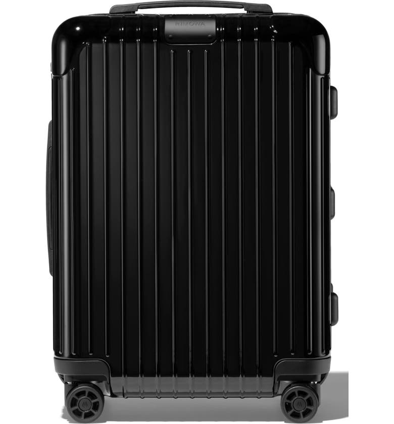 RIMOWA Essential Cabin 22-Inch Wheeled Carry-On, Main, color, BLACK
