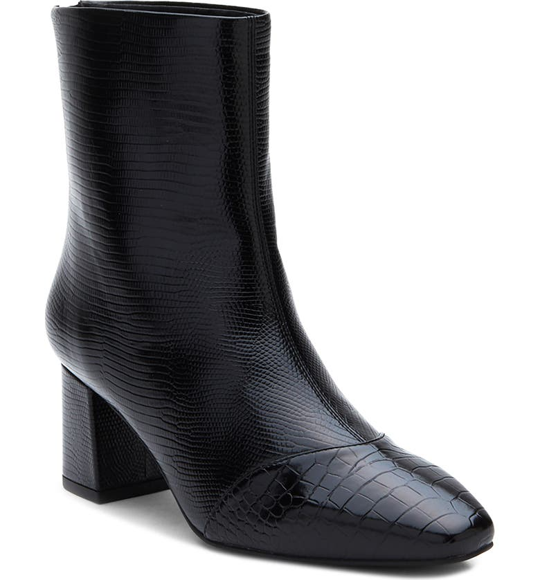 COCONUTS BY MATISSE Clyde Boot, Main, color, BLACK FAUX LEATHER