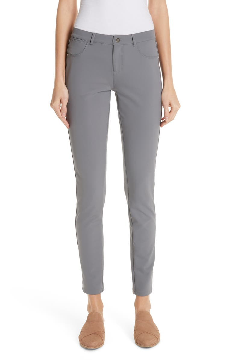 LAFAYETTE 148 NEW YORK Mercer Acclaimed Stretch Skinny Pants, Main, color, 028