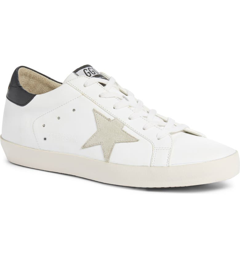 GOLDEN GOOSE Superstar Low Top Sneaker, Main, color, 101