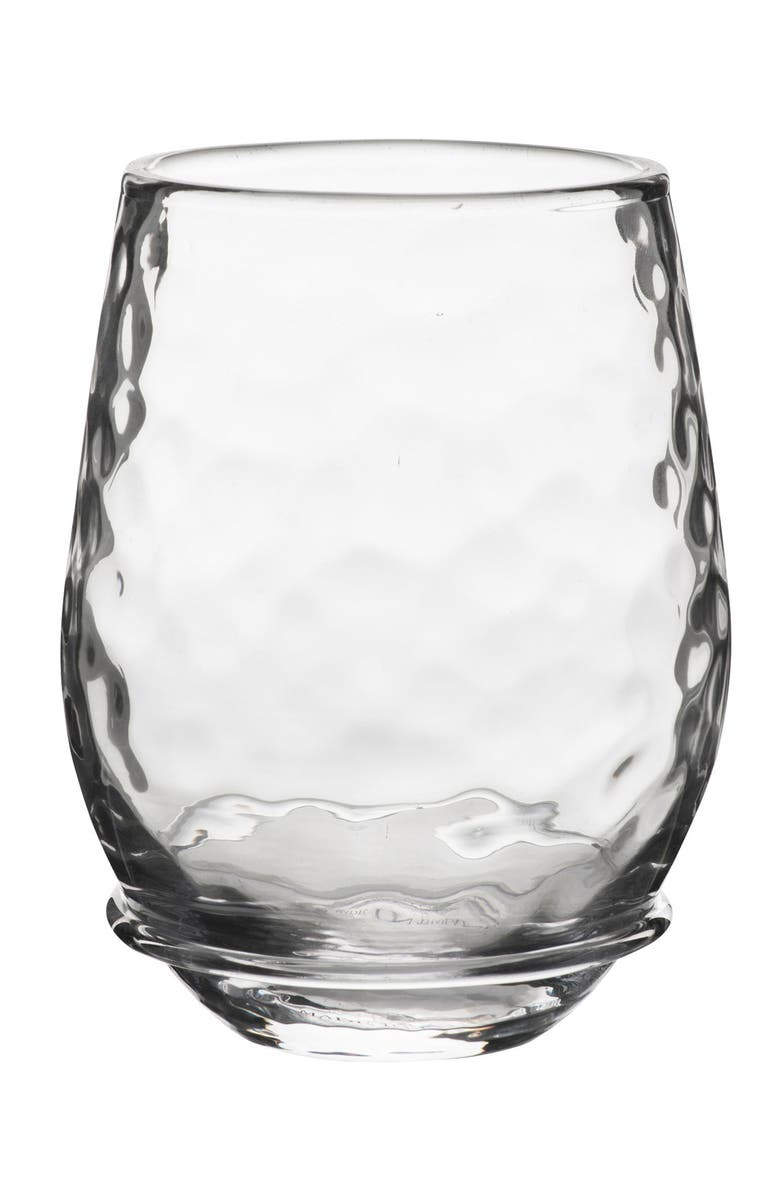 JULISKA Carine Stemless White Wine Glass, Main, color, 100
