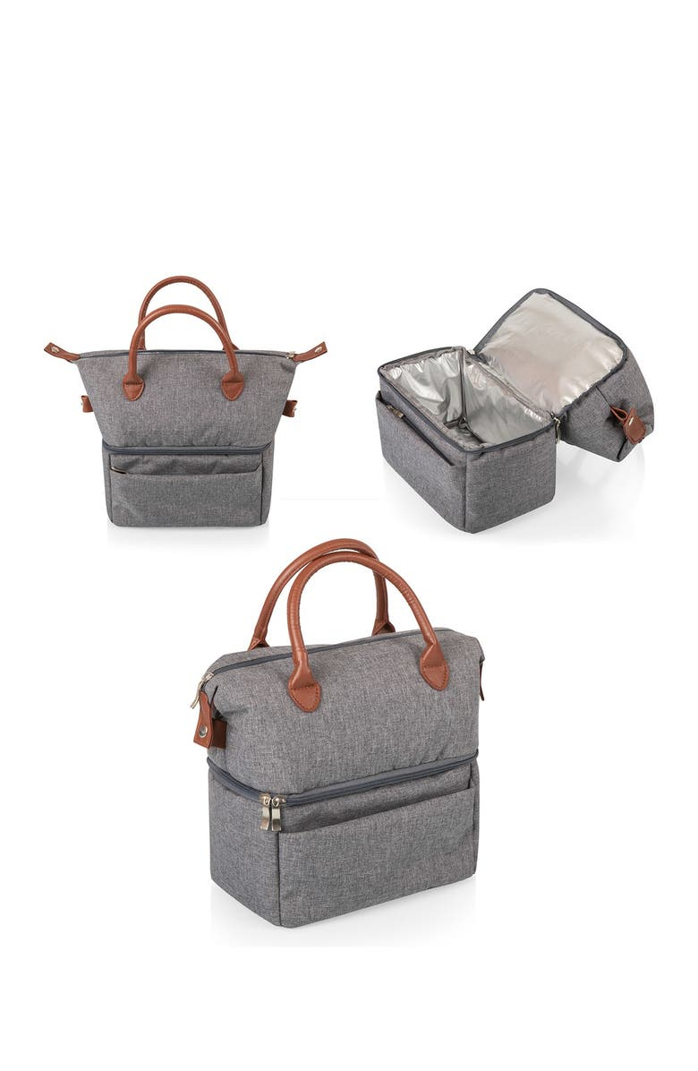 PICNIC TIME Urban Lunch Bag - Heathered Gray, Main, color, GREY