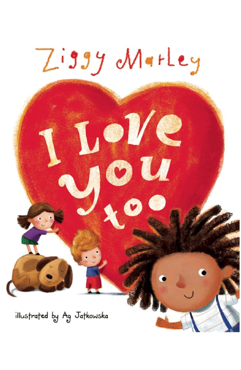 PERSEUS 'I Love You Too' by Ziggy Marley Book, Main, color, MULTI