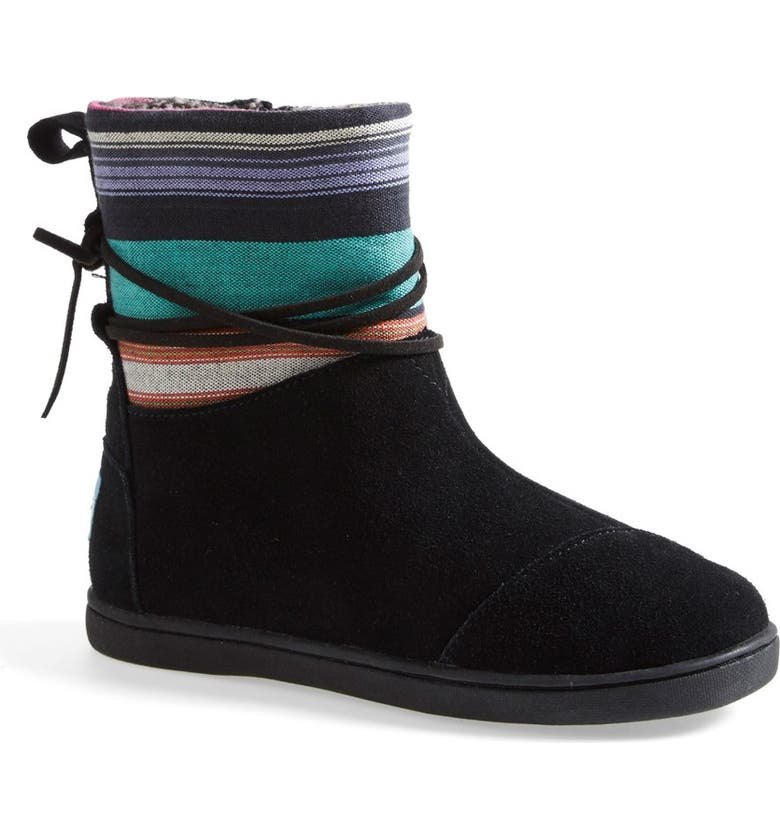 TOMS 'Nepal - Youth' Boot, Main, color, Black