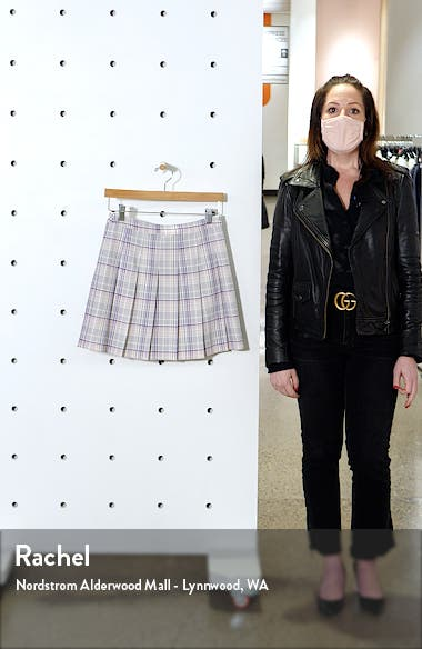 Pleated Miniskirt, sales video thumbnail