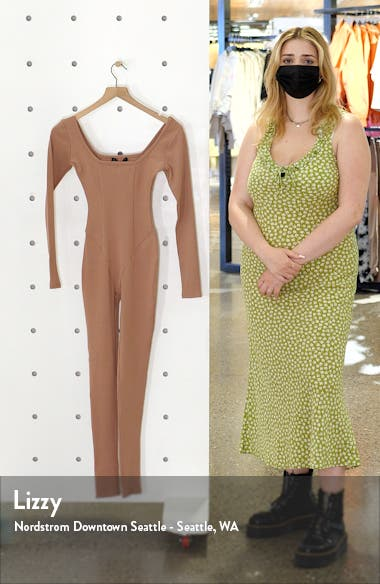 The Snatched Vibes Long Sleeve Jumpsuit, sales video thumbnail