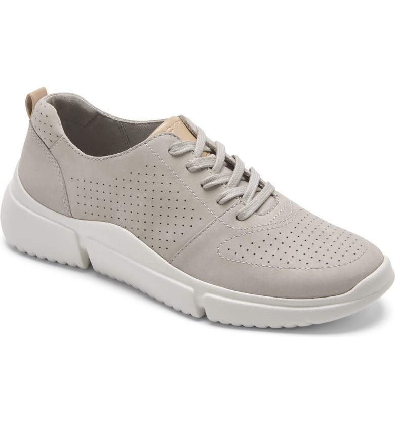 ROCKPORT Lace-Up Sneaker, Main, color, HEATHER GREY NUBUCK