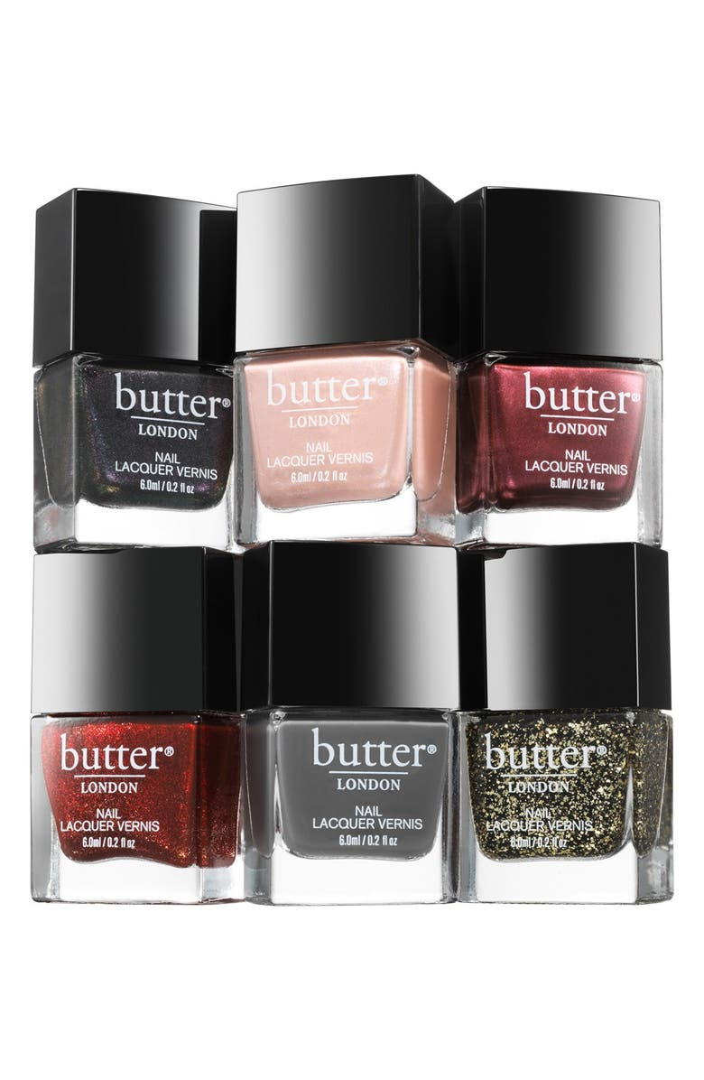 BUTTER LONDON 'Steampunk Ball' Nail Lacquer Collection, Main, color, 000