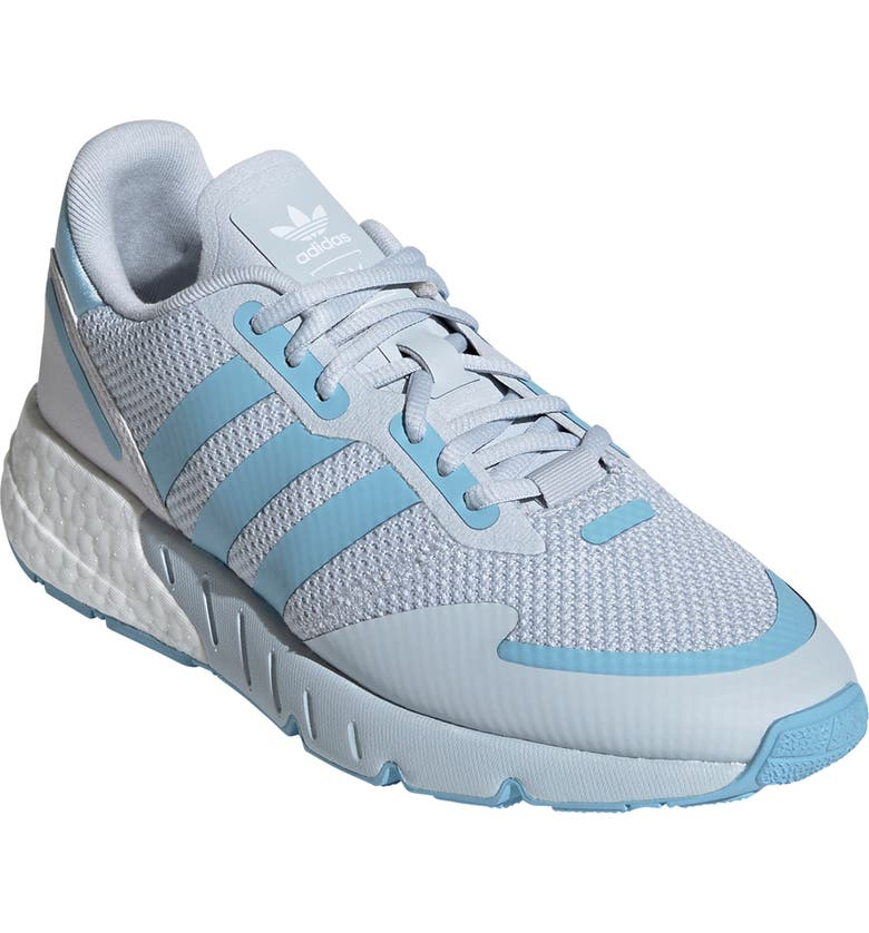 ADIDAS ZX 1K Boost Sneaker, Main, color, HALO BLUE/ CLEAR BLUE/ WHITE